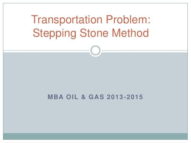 Transportation Problem Stepping Stone Method