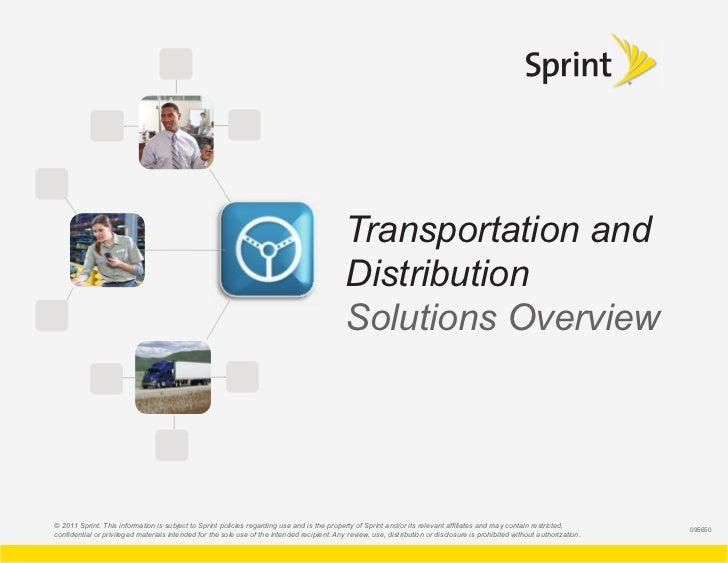 Transportation and                                                                                             Distributio...