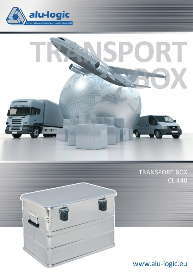 Transport Box CL 440 Transport Box CL 440 PACKEN  FAHREN  Leichte, aber steife Transport-und Aufbewahrungsboxen, ausgezeic...