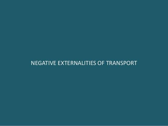 Negative Externalities