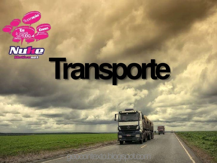 Transporte geocontexto.blogspot.com