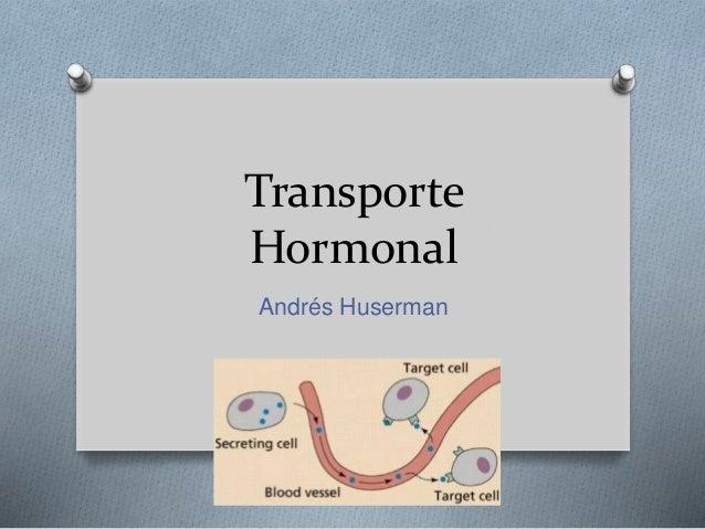 Transporte  Hormonal  Andrés Huserman