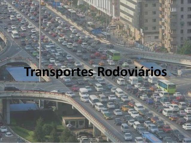 Transportes Rodoviários 1