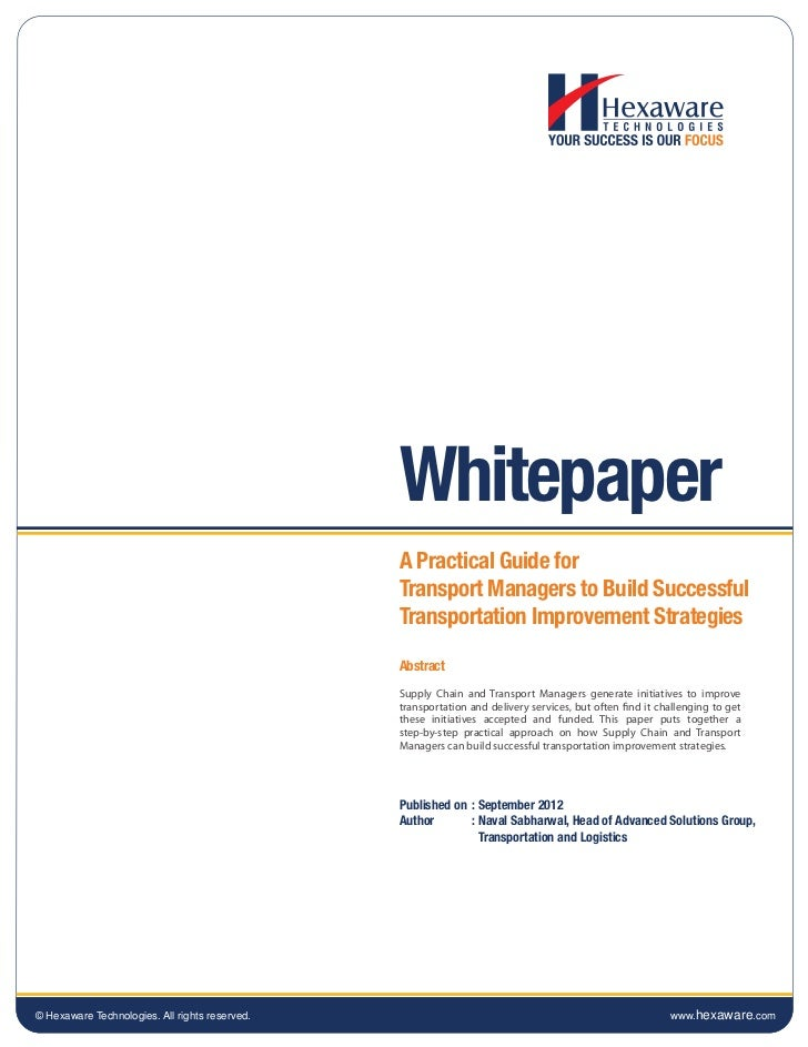 Whitepaper                                                A Practical Guide for                                           ...