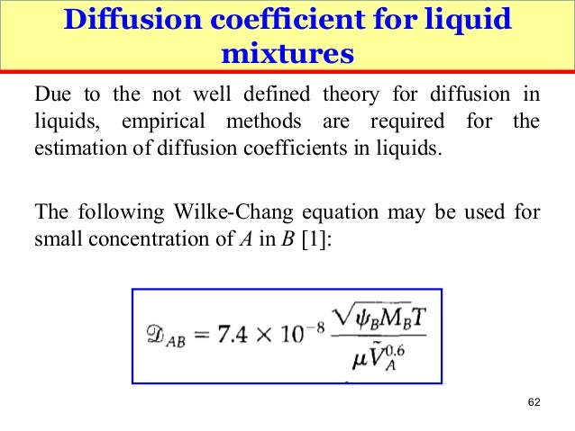 to determine gas diffusion coefficient of acetone Module 2: diffusion  241 measurement of gas-phase diffusion coefficient  predictive equations are sometimes used to determine diffusivity.