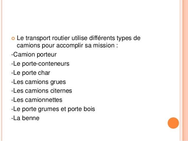 Transport routier au Maroc Slide 3