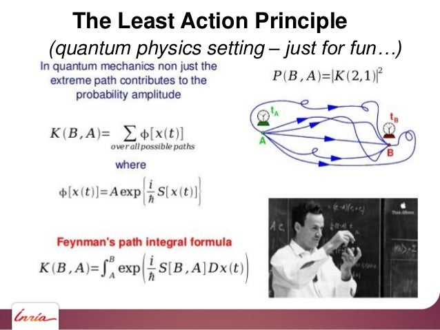 The Least Action Principle (quantum physics setting – just for fun…)