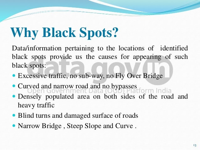 (PDF) Accident Analysis At The Black Spot: A Case Study ...