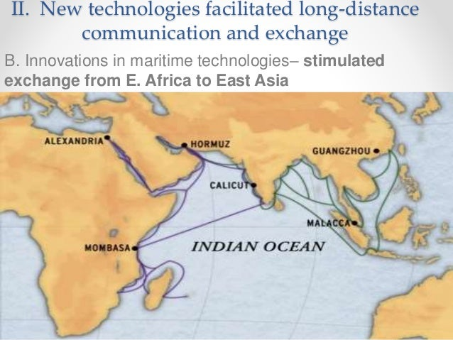 long distance trade in east africa Expansion of trade and exchanges: this period featured much more long-distance trade sub-saharan and east africa through missionaries and trade.