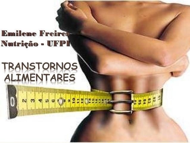 Emilene Freires Nutrição - UFPI