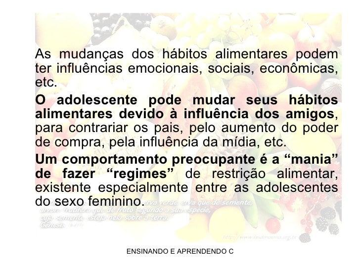 Transtornos alimentares Slide 3