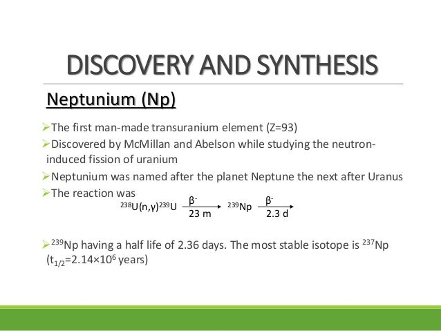 transuranic elements Pert to a chemical element that has an atomic number greater than 92 (the atomic number of uranium) none of the transuranic elements are stable, and they all decay by radioactivity into other elements.