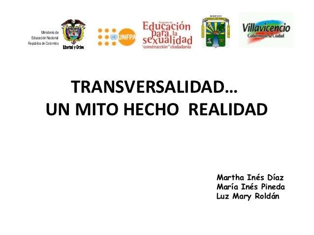 MUNICIPIO DE                           VILLAVICENCIO        Ministerio de  Educación NacionalRepública de Colombia        ...
