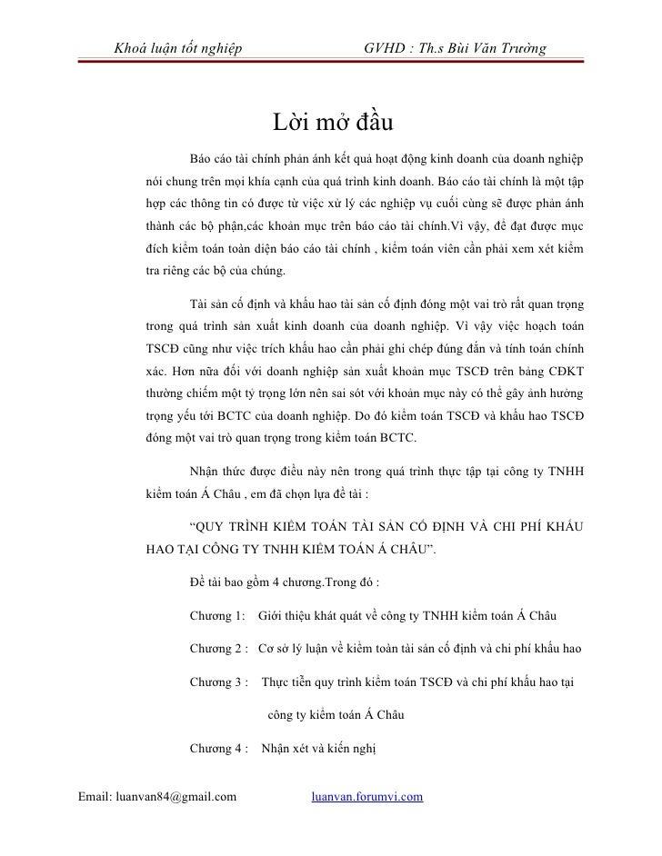 Khoá luận tốt nghiệp                           GVHD : Th.s Bùi Văn Trường                                   Lời mở đầu    ...