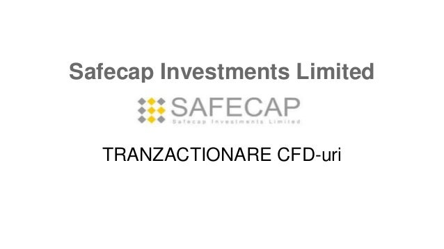 Safecap Investments Limited TRANZACTIONARE CFD-uri