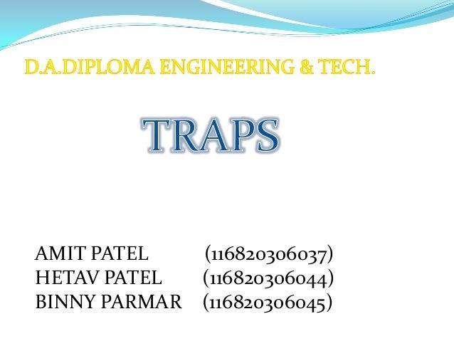 AMIT PATEL (116820306037) HETAV PATEL (116820306044) BINNY PARMAR (116820306045)