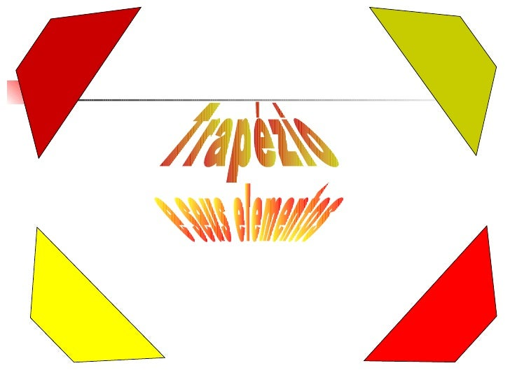 Trapézio e seus elementos