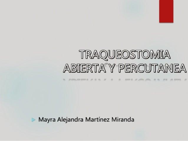  Mayra Alejandra Martínez Miranda