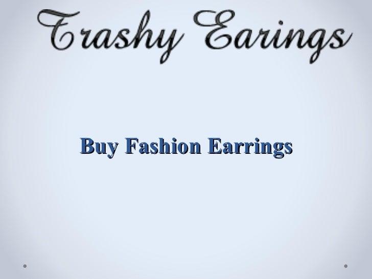 Buy Fashion Earrings