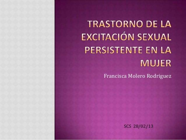 Francisca Molero Rodriguez       SCS 28/02/13