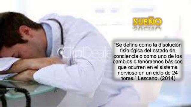 Trastornos del sueño en estudiantes de medicina Slide 3