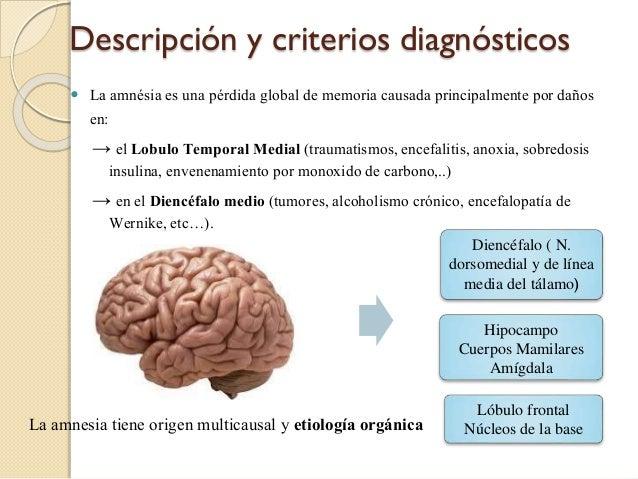 trastornos amnesicos