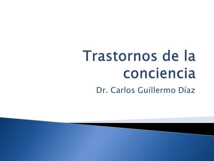 Dr. Carlos Guillermo Díaz