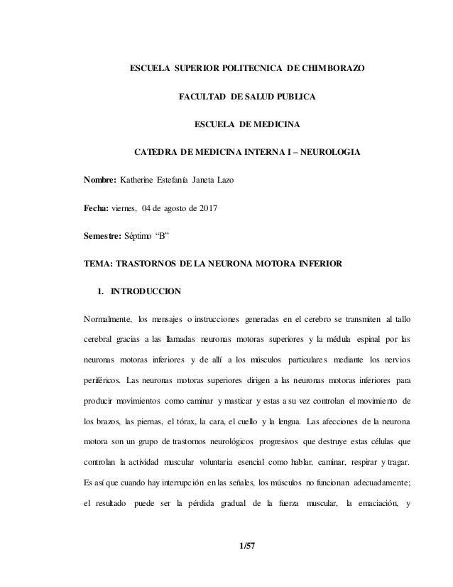 1/57 ESCUELA SUPERIOR POLITECNICA DE CHIMBORAZO FACULTAD DE SALUD PUBLICA ESCUELA DE MEDICINA CATEDRA DE MEDICINA INTERNA ...