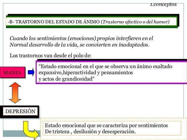 TRASTORNOS DEL ESTADO DE ÁNIMO Slide 3