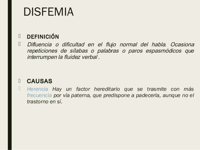 DISFEMIA DEFINICION PDF DOWNLOAD