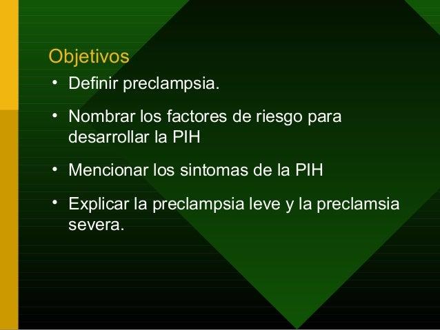 Trastornos hipertensivos durante el embarazo Slide 2