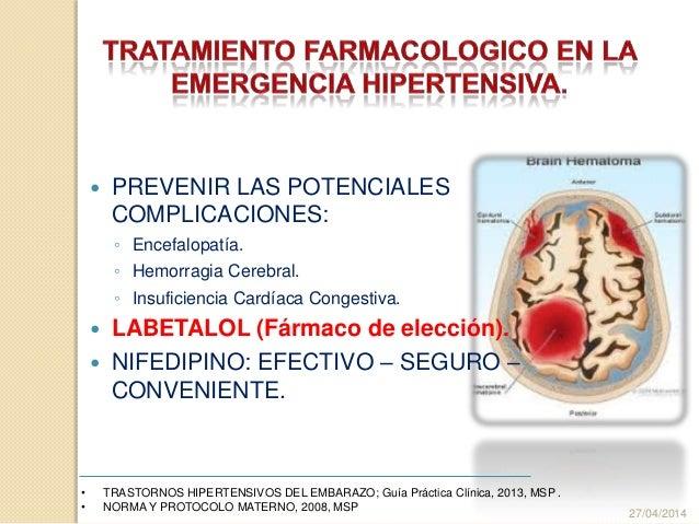  PREVENIR LAS POTENCIALES COMPLICACIONES: ◦ Encefalopatía. ◦ Hemorragia Cerebral. ◦ Insuficiencia Cardíaca Congestiva.  ...