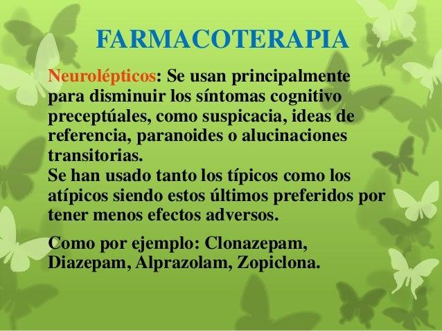 Terapia psicodinámica: Se define como aquella quepresta especial atención a la interacción terapeutapaciente y es un conti...