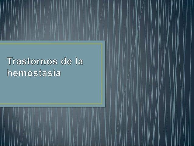 • Hemostasia Primaria                                  Proceso de reducción- Vasoconstricción -> reduce el flujo circulato...