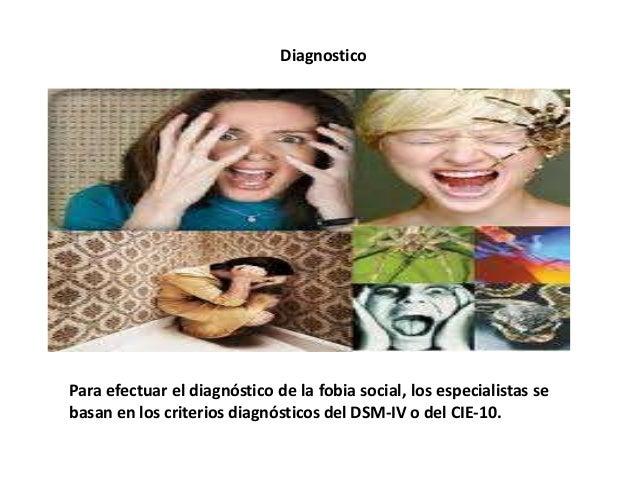 Tratamiento La fobia social suele presentar una muy buena respuesta a la terapia cognitivo-conductual (TCC), en sus varian...