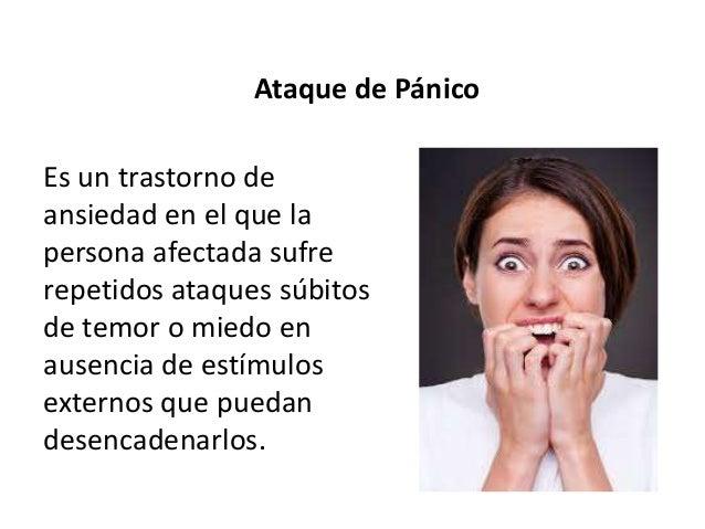 Se caracteriza por la aparición de ataques floridos de pánico seguidos por una respuesta de escape, hacia un lugar o perso...