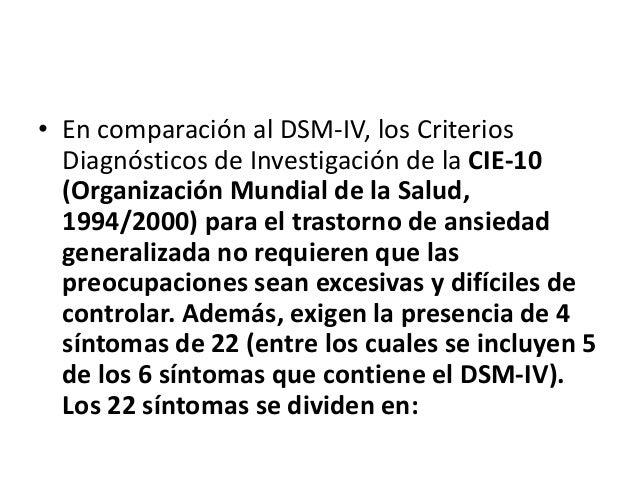 Síntomas autónomos (4): palpitaciones o taquicardia, sudoración, temblor o sacudidas, sequedad de boca (no debida a medica...