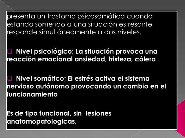 Trastornos psicosomaticos expo (2) Slide 2
