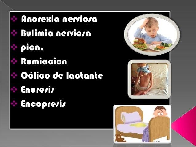 BULIMIA NERVIOSA NO PURAGTIVAPURGATIVA •Uso de laxante •Vomitos •Diureticos •Enemas Ayuno Ejercicio extenso