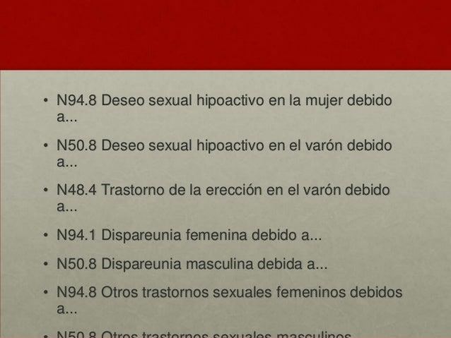 Trastorno sexual inducido por sustancias