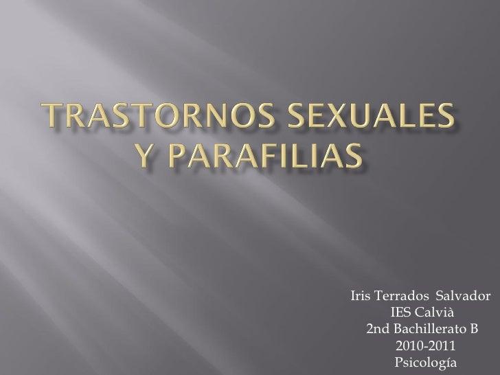 Iris Terrados Salvador       IES Calvià   2nd Bachillerato B        2010-2011        Psicología