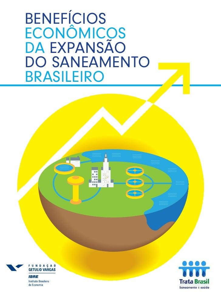 benefícios econômicos da expansão do saneamento brasileiro
