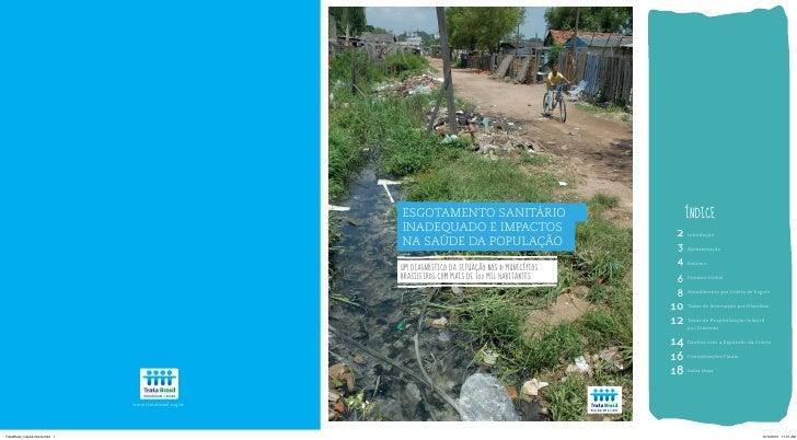 esgotamento sanitário                               índiceinadequado e impactos                          2    introduçãona...