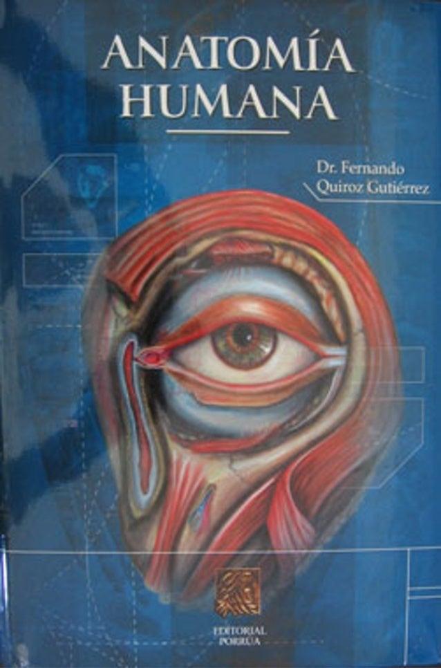 Tratado anatomía humana tomo2 Quiroz