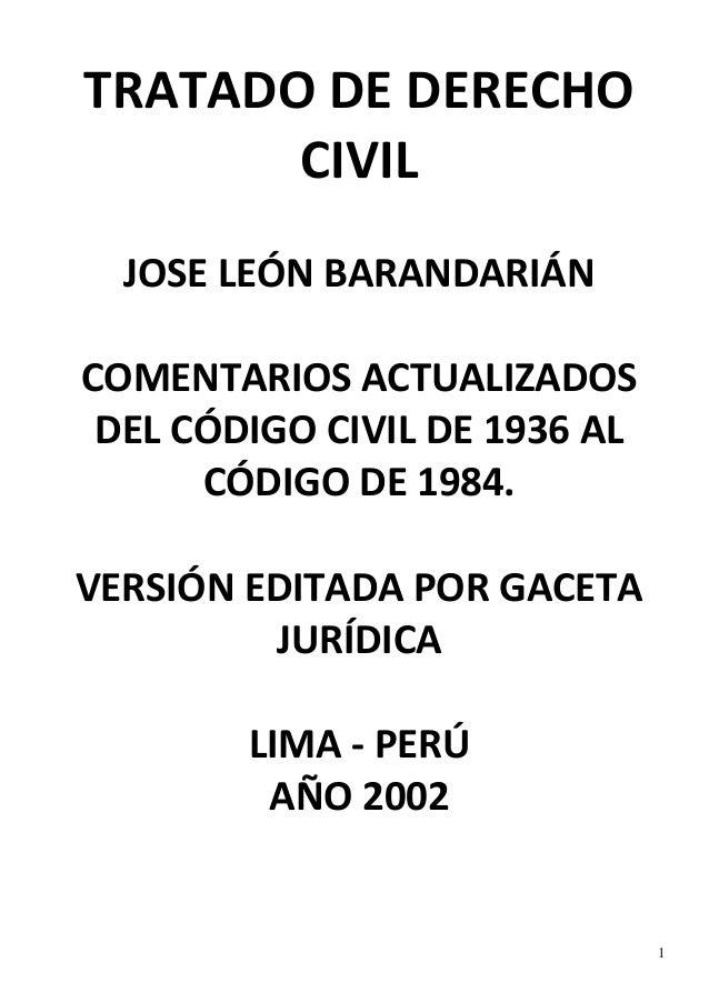 LEON BARANDIARAN ACTO JURIDICO PDF