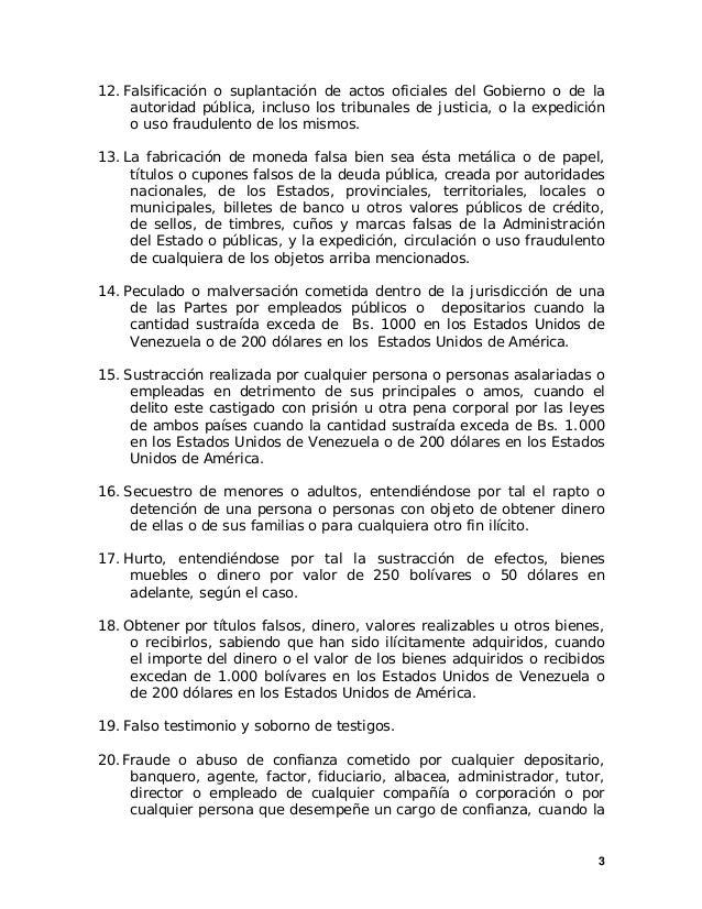 3 12. Falsificación o suplantación de actos oficiales del Gobierno o de la autoridad pública, incluso los tribunales de ju...