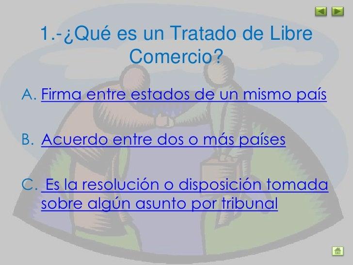 Tratado de libre comercio for Que es el comercio interior