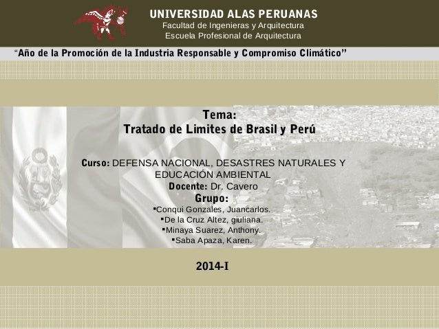 """UNIVERSIDAD ALAS PERUANAS  Facultad de Ingenieras y Arquitectura  Escuela Profesional de Arquitectura  """"Año de la Promoció..."""