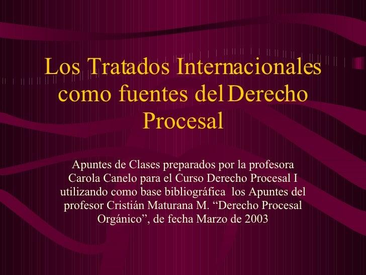Apuntes de Clases preparados por la profesora Carola Canelo para el Curso Derecho Procesal I utilizando como base bibliogr...