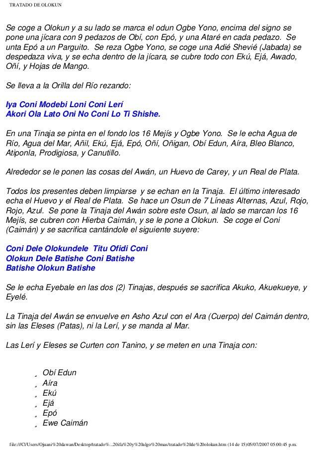 TRATADO DE OLOKUN PDF